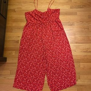 Madewell size 22 crop jumpsuit